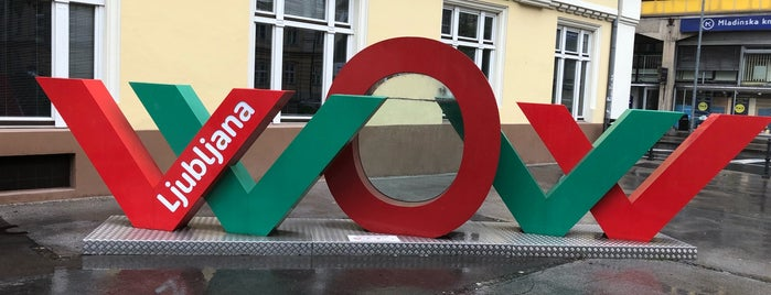 STIC - Slovene Tourist Information Centre is one of Ljubljana.