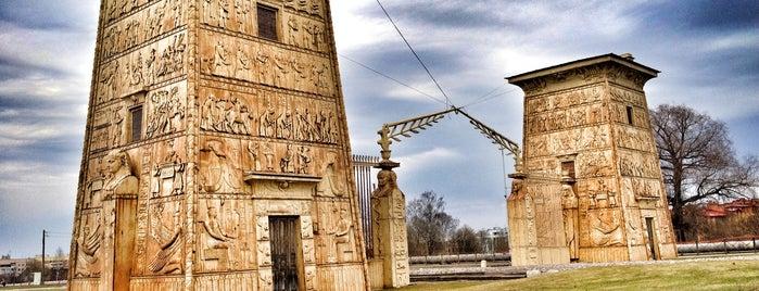 Египетские (Кузьминские) ворота is one of Locais curtidos por Tanya.