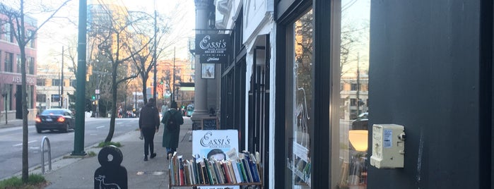 The Paper Hound Bookshop is one of vancouver.