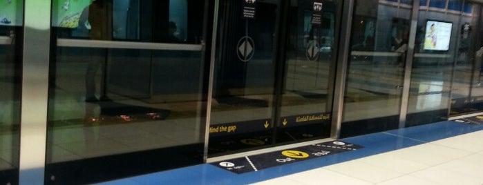 Palm Deira Metro Station محطة مترو نخلة ديرة is one of Dubai.