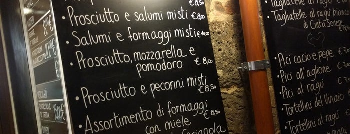 Osteria Il Vinaio is one of Italy !.