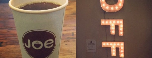 Joe Coffee Company is one of Lugares favoritos de Todd.