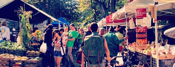 Fort Greene Park Greenmarket is one of Brooklyn NY.