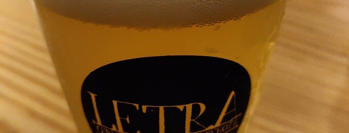 Letraria - Craft Beer Garden Porto is one of Portugal.