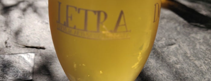 Letraria - Craft Beer Garden Porto is one of Portugal 2020.
