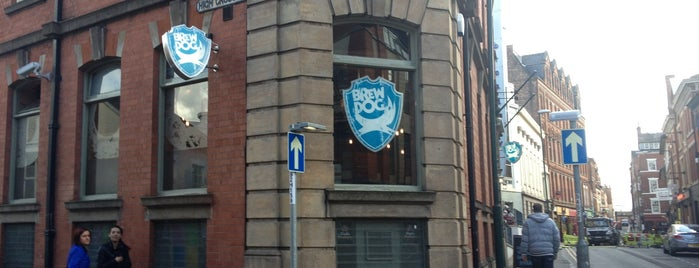 BrewDog Nottingham is one of Kevinさんの保存済みスポット.