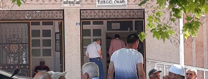 Ereğli Merkez Camii is one of Orte, die Ahmet gefallen.