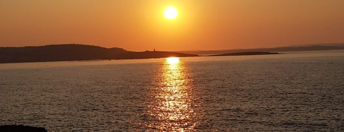 Qawra Beach is one of VISITAR Malta.
