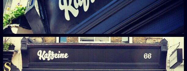 Kaffeine is one of London Map.