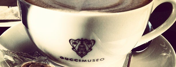 Gucci Caffè & Restaurant is one of Florence must-see.
