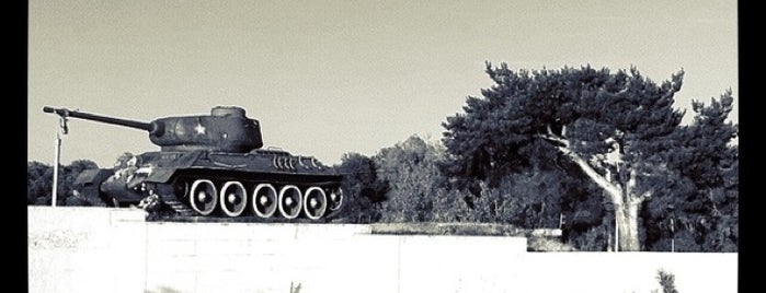 Танк Т-34 is one of Orte, die Gregory gefallen.