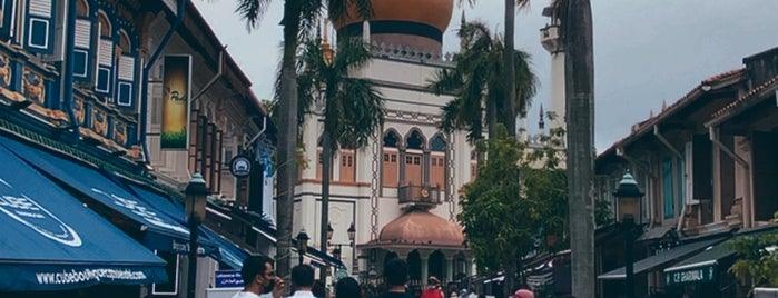 Kampong Glam is one of Singapur.