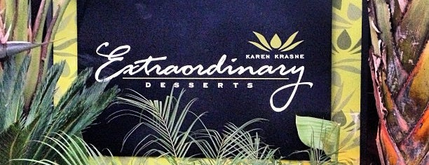 Extraordinary Desserts is one of California.