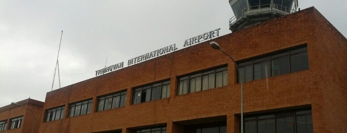 Tribhuvan International Airport (KTM)  त्रिभुवन विमानस्थल is one of My airports worldwide.