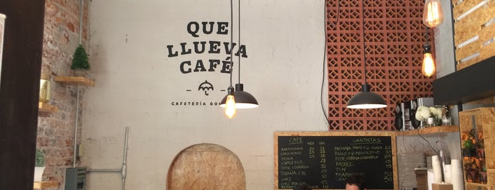 Que Llueva Café is one of CDMX: Coyoacán/San Angel.