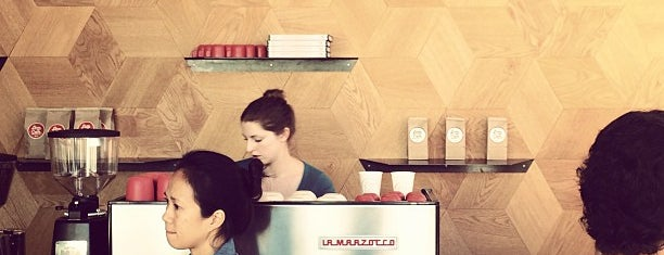 Linea Caffe is one of SF x Kickstarter.