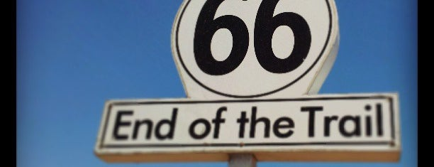 Route 66 End of the Trail is one of LA/SoCal.