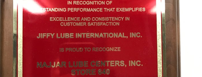 Jiffy Lube is one of Mo's Liked Places.