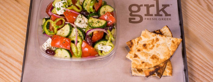 GRK Fresh Greek is one of Work lunch.
