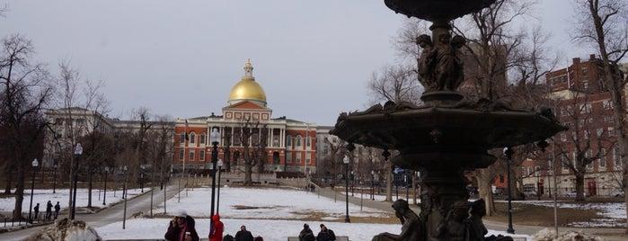 Boston Common is one of Boston.