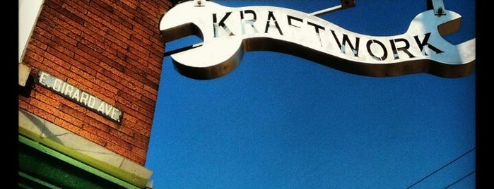 Kraftwork is one of Foobooz Best 50 Bars in Philadelphia 2012.