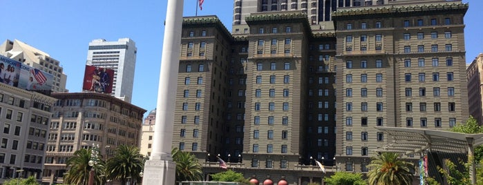Union Square is one of Bay Area.