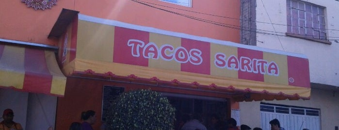 Tacos sarita is one of Lugares favoritos de Shir.
