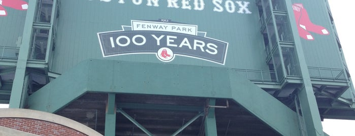 Fenway Park is one of FAMILY TRAVEL PLANS.