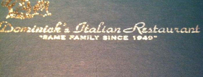 Dominicks Italian Restaurant is one of สถานที่ที่ Toni ถูกใจ.