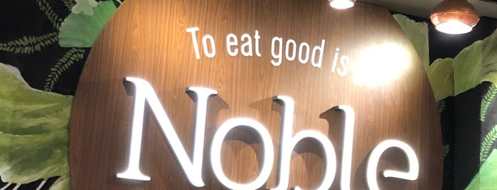Noble Zab Thai is one of Jkt Simple Art of Eating.