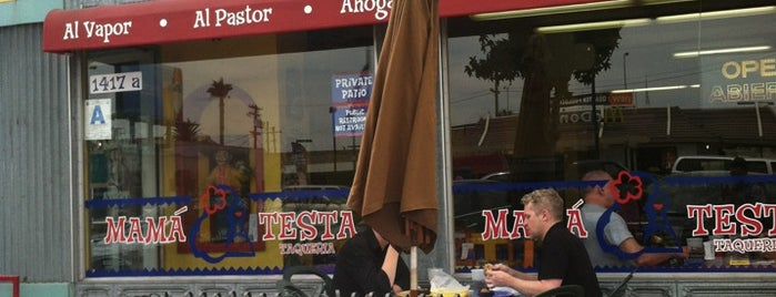 Mamá Testa Taqueria is one of San Diego.