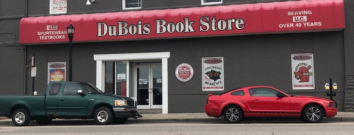 DuBois Book Store is one of places to check out.