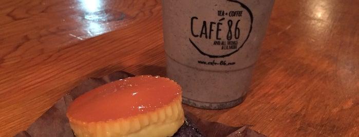 Cafe 86 is one of สถานที่ที่ Rayshawn ถูกใจ.