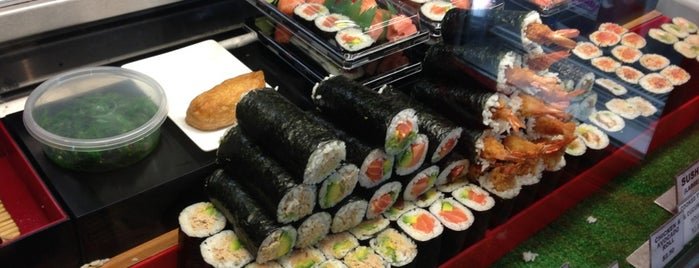 Sushi Monger is one of Melbourne work trips.