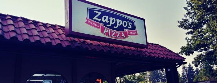Zappo's Pizza is one of สถานที่ที่ Nick ถูกใจ.