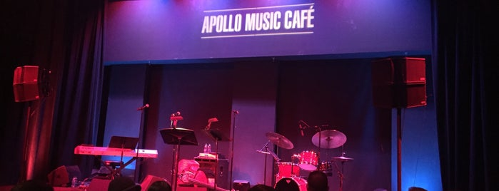 Apollo Music Cafe is one of New York.