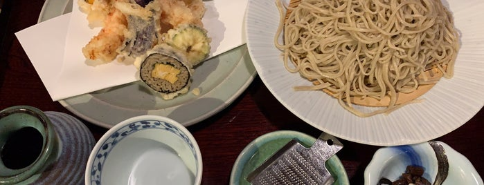 蕎麦料理処 萱 is one of The 20 best value restaurants in ネギ畑.
