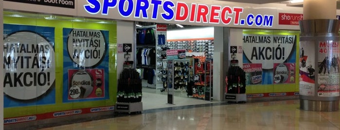 Sportsdirect.com is one of Orte, die Adam gefallen.