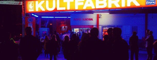 Kultfabrik is one of Clubs Munich.