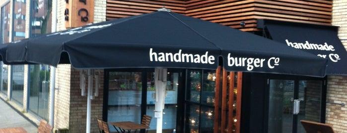 Handmade Burger Co is one of Reading Restaurants 🇬🇧.