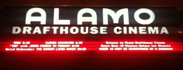 Alamo Drafthouse Cinema is one of Austin.