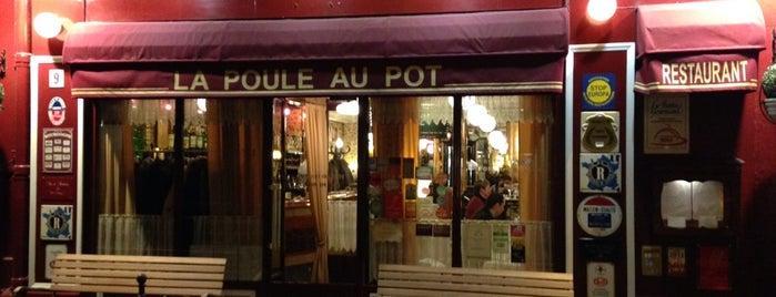 La Poule Au Pot is one of My Paris spots....