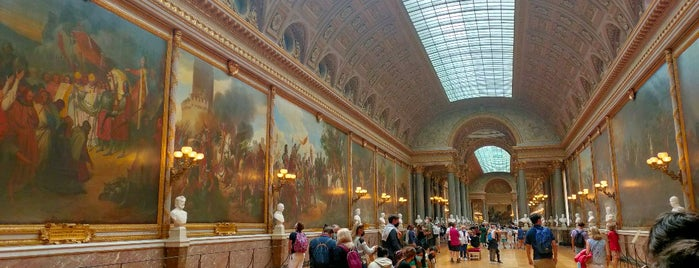 Galerie des Batailles is one of NYC➡️SPAIN➡️FRANCE➡️ITALY Trip.