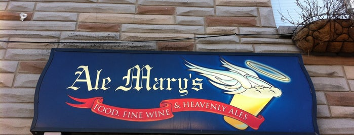 Ale Mary's is one of BAWLMOR.