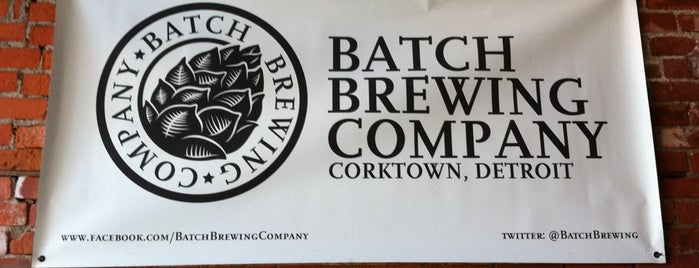 Batch Brewing Company is one of Michigan Breweries.