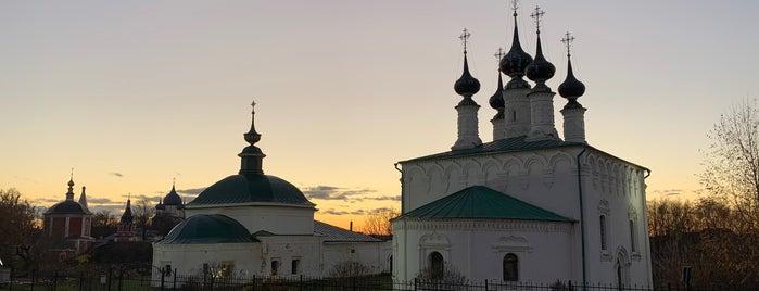 Входоиерусалимская Церковь 1707г. is one of Суздаль.