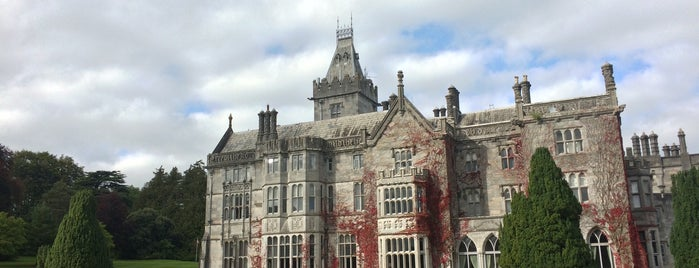Adare Manor Hotel is one of Europe 16.