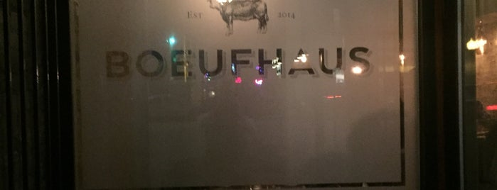 Boeufhaus is one of Restaurantes.