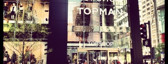 Topshop is one of Chicago.