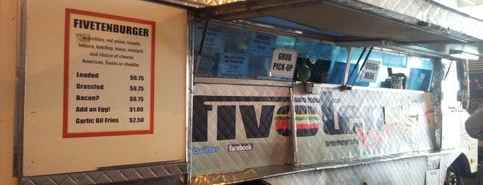 Five Ten Burger is one of Burgers Todo.